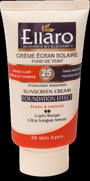 کرم ضد آفتاب با پوشش کرم پودر SPF25