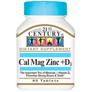 قرص کلسیم منیزیم زینک و ویتامین دی سنتری