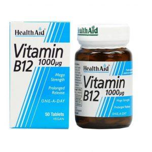 قرص ویتامین ب ۱۲ هلث اید