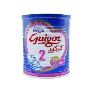 شیر خشک گیگوز ۲ نستله ۴۰۰ گرم