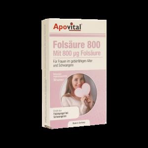 قرص اسید فولیک ۸۰۰ آپوویتال