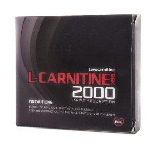 محلول خوراکی ال کارنیتین 2000 بی اس کی